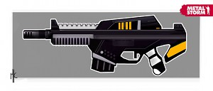 Weapon Concept 2090 Assault Rifle