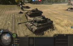Tank Commander on Tiger Tank