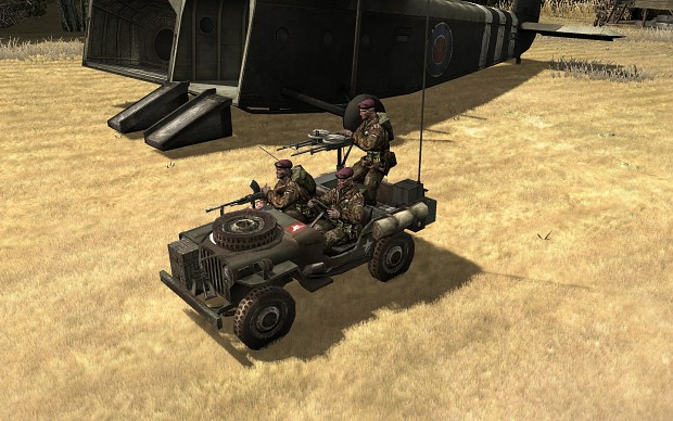 New model: SAS Jeep with twin Vickers K