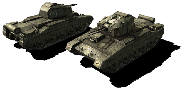 New model: Cruiser Tank Mk.VI Crusader AA Mk II