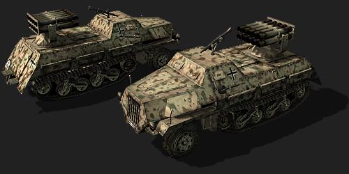 New model: Panzerwerfer 42