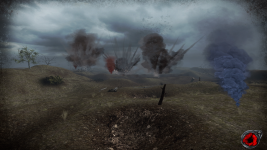 Battle of the Somme - Raining hell on German lines