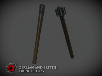 German and British trenchclubs