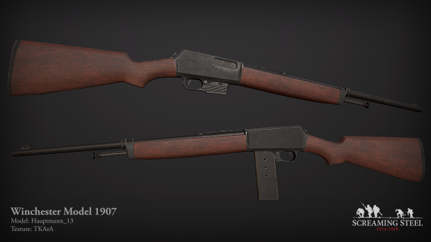 Winchester 1907 - October 2018 Article