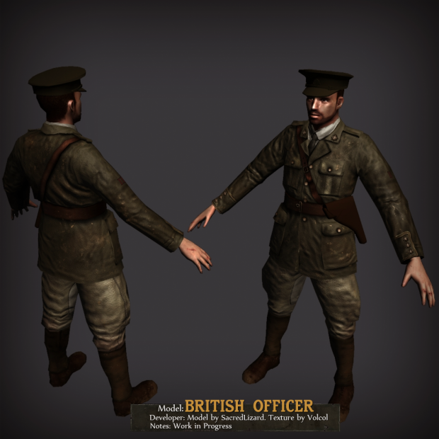 British Officer