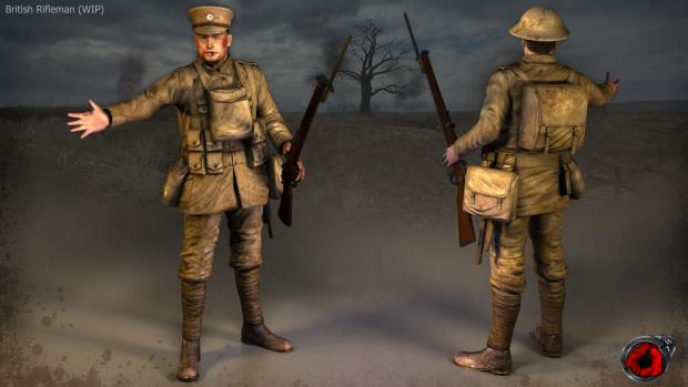 WW1: Source British soldier render