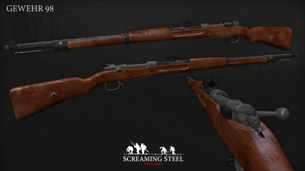 New Year's 2017 - Updated Gewehr 98 model