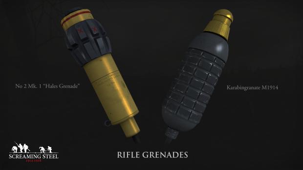 Rifle grenades - March 2017 News Update