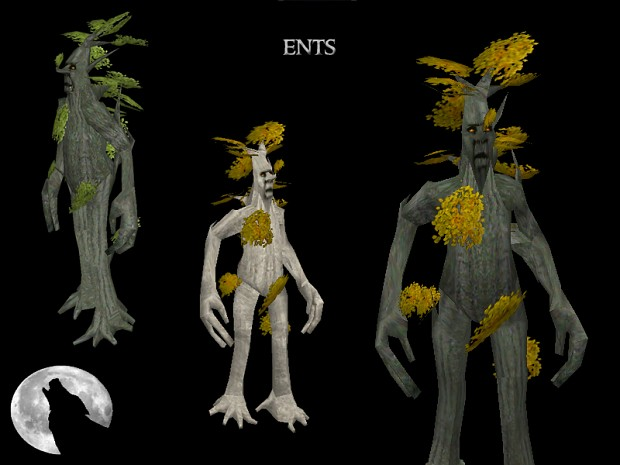Ents - Beech,Mallorn and Golden Beech variations