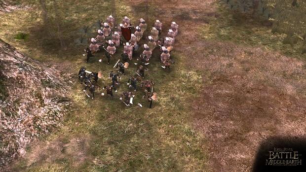 Random shot from Minas Tirith