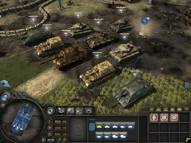 Panzer Elite S Panzerjager Tactics Image Nhc Mod For Company Of Heroes Mod Db