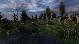 Lost Alpha Christmas Screens
