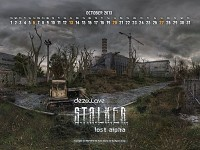 Lost Alpha Calendars for Oct 2013