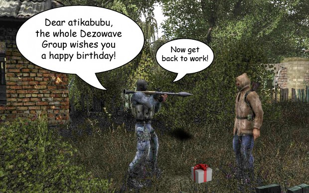 Happy Birthday, Atikabubu!