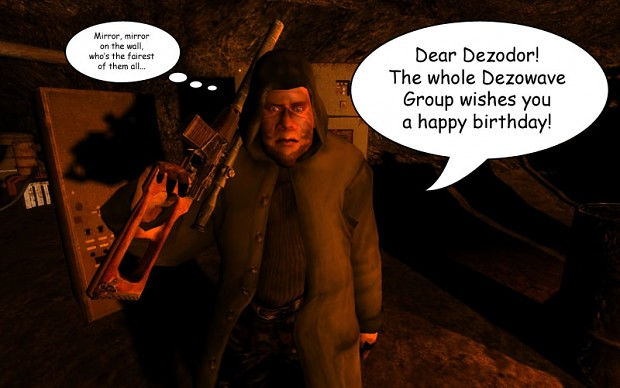 Happy Birthday Dez!