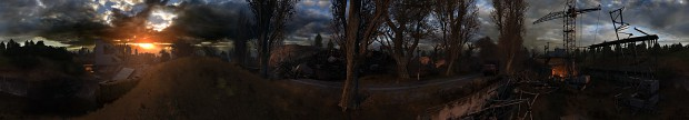 Lost Alpha panoramic screens