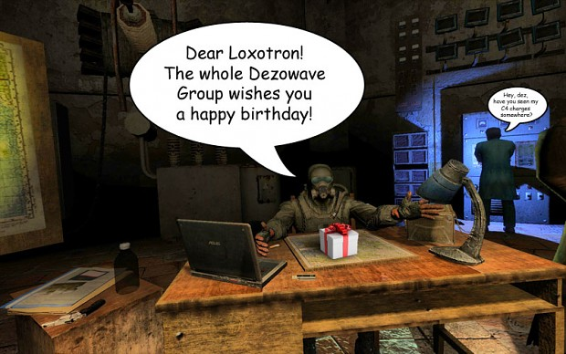 Happy Birthday Loxotron!