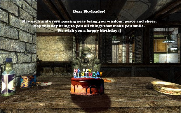 Happy Birthday Skyloader!