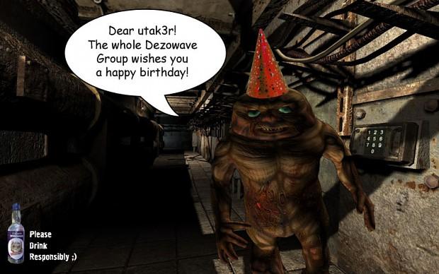Happy Birthday Utak3r!