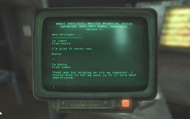 Fallout 3 терминалы