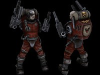 Space Marine Tech Servitor