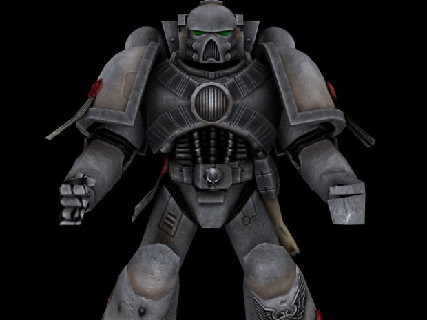 New Space Marine Model -WIP-