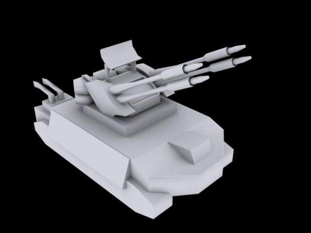 Chinese Flame Anti-Air unit.