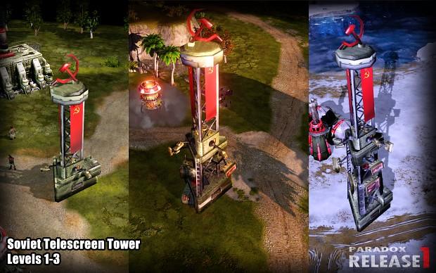 Soviet Telescreen Tower