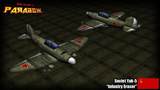 Soviet YaK-5 Promo Render