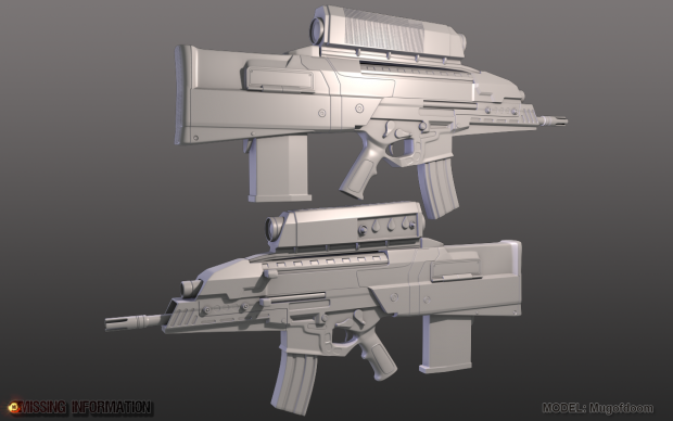 OICW High Poly