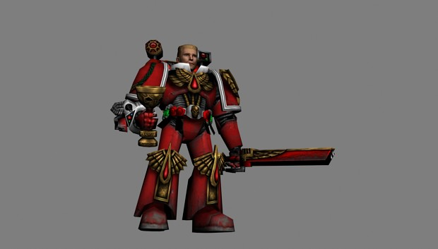 Reworked Corbulo - Blood Angels Priest