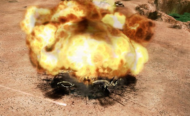 Conyard Explosion