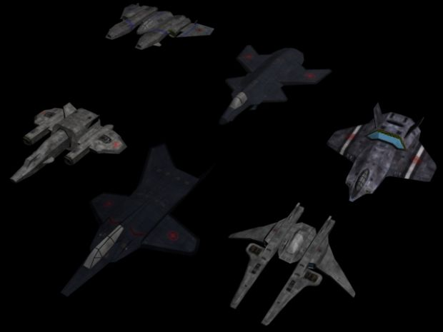 New Confederation Fighters/Bombers
