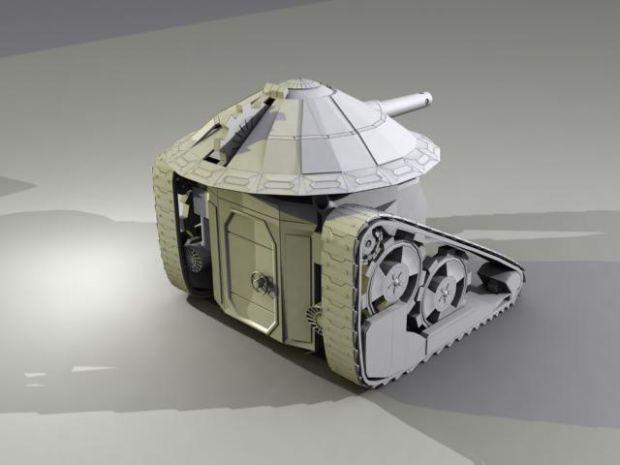Go Vu Battle Tank (Primary Mode - Tank Cannon)