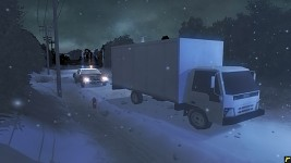 Delivery Truck In Game