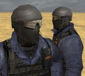 SWAT with balaclava