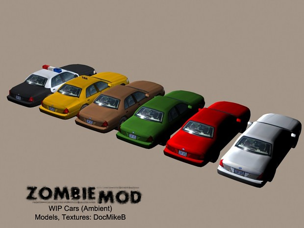 WIP Vehicle Models