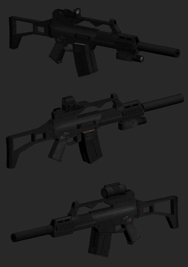 G36C sight types