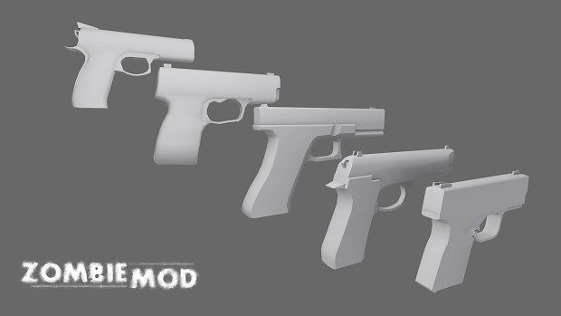 October Update: Weapon Teasers
