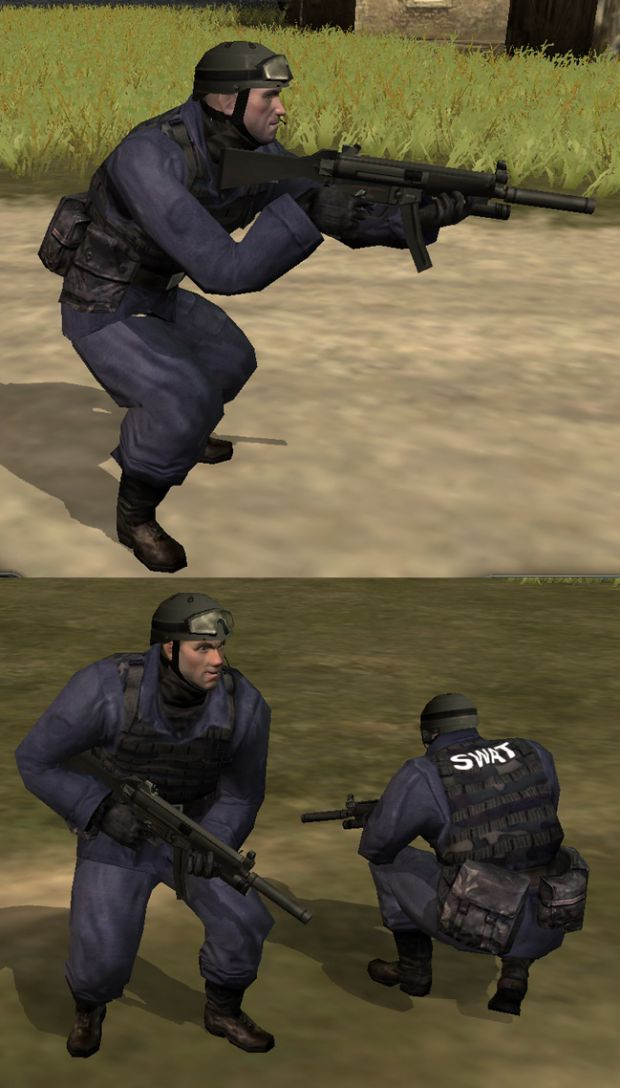 SWAT with MP5