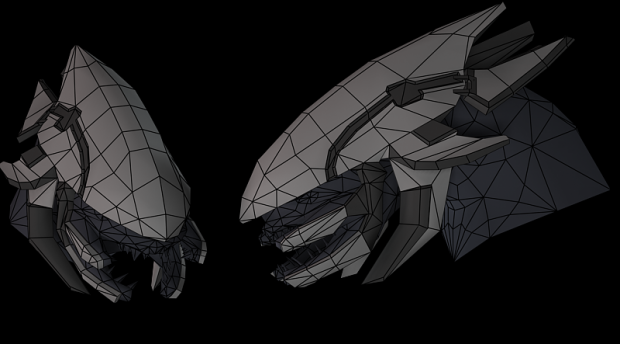 Elite Head Wireframes And Addons Image Custom Mapping