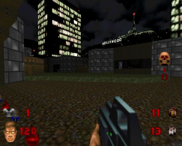 Some Deathmatch Maps converted from Doom