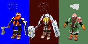 Dwarven Warriors Models