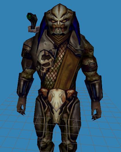 Final enemy - elder predator