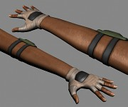 Alternative Hand Mesh