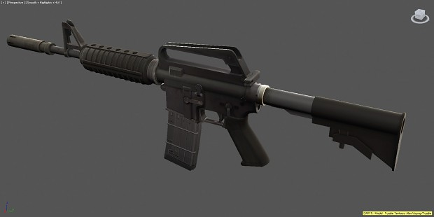 Weapon Renders 2012, Colt CAR-15
