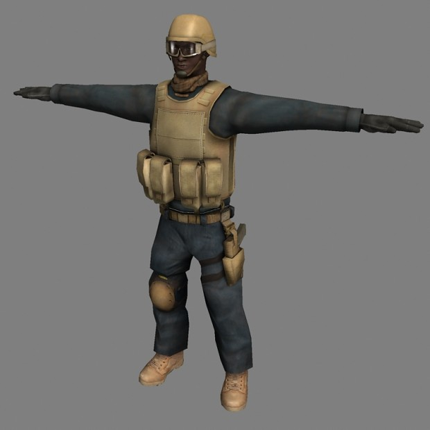 Enemy Trooper variations