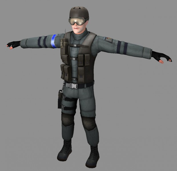 Fixing up the old player model