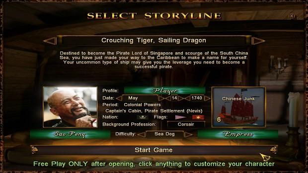 Free Play - Sao Feng