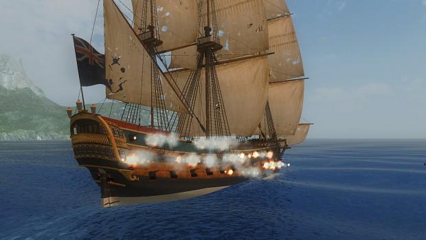 HMS Centurion + CannonFX